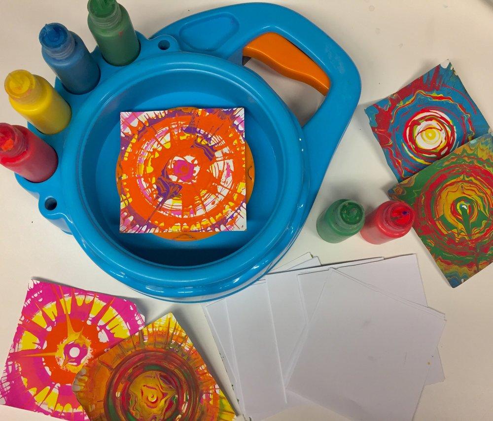 6. Spin Art & Refills