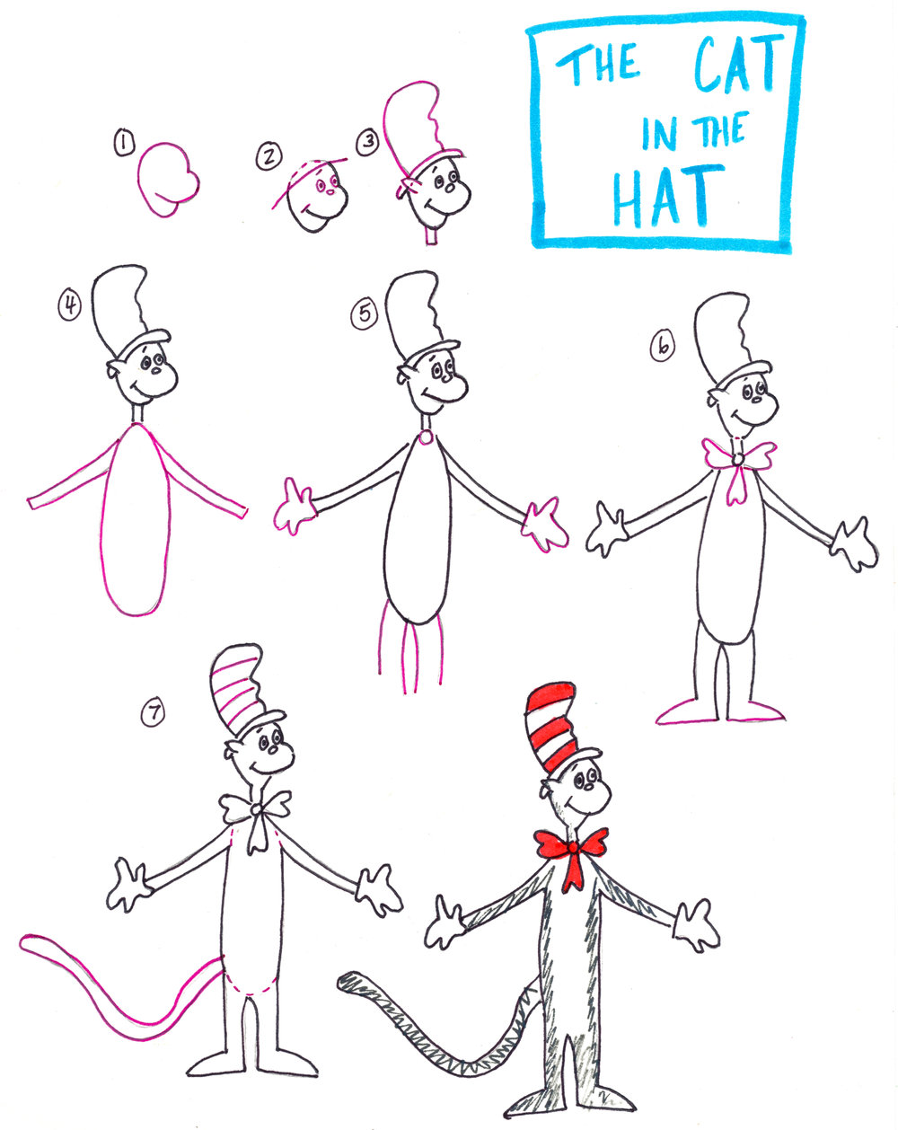 Dr Seuss Themed Crafts The Art Project