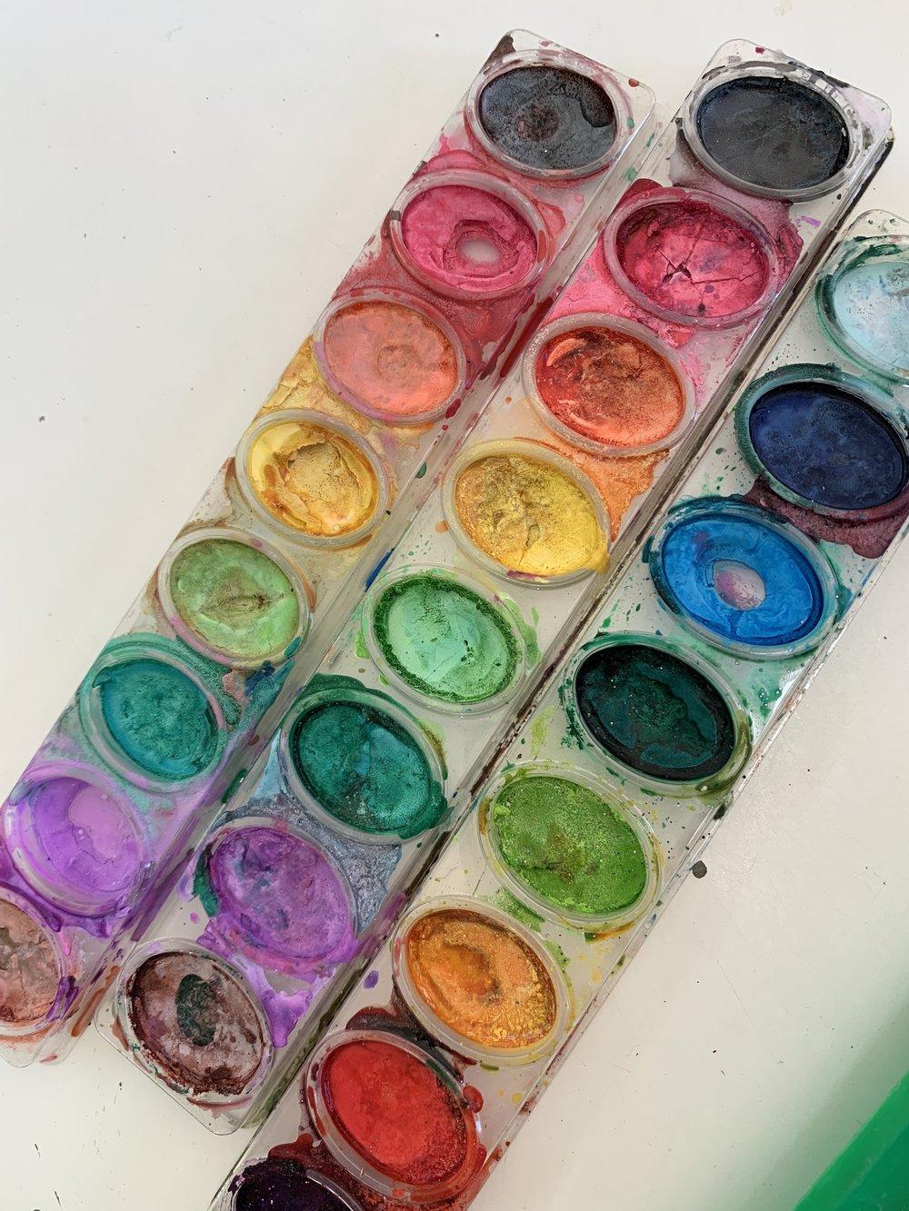 Crayola watercolor trays