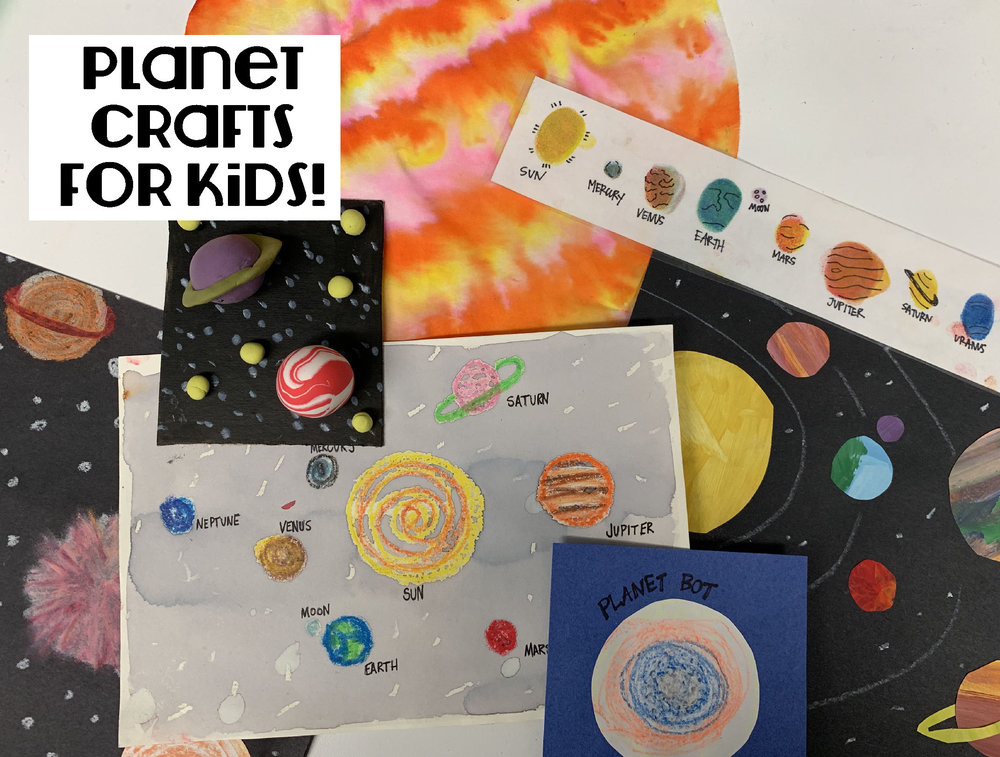 Planet Crafts for Kids. By The Art Project
