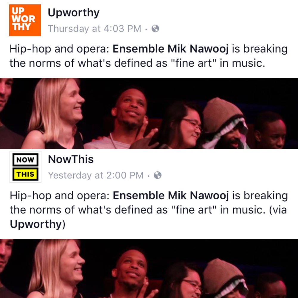 Thank you Upworthy for the video & NowThis for picking it up!  Click here to watch