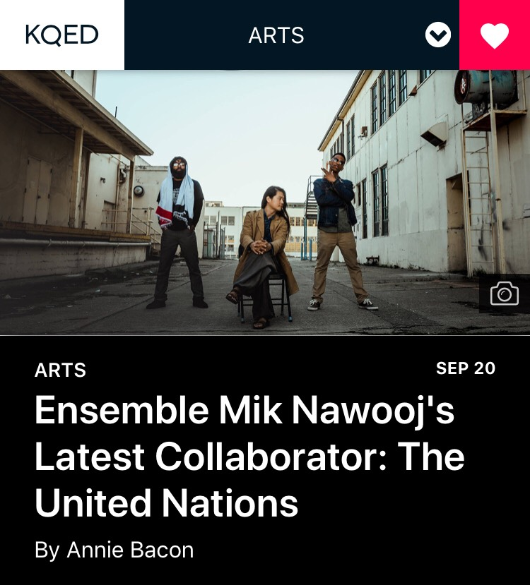 """With its work over the last year, EMN joins an elite crew of Oakland artists—Boots Riley ( Sorry to Bother You ), Daveed Diggs ( Blindspotting ), Ryan Coogler ( Black Panther ), Fantastic Negrito and others—who are changing national and global cultural conversations with their work.""    Full article here"