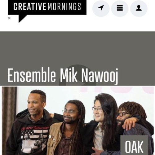 """Don't call it Hip-Hop. Don't call it Classical music either. Ensemble Mik Nawooj calls it New Concert Music. By method sampling—the technique of borrowing sound bytes or scores from music and remixing it—they're creating a radically inclusive space for musical performance.""   Watch here"