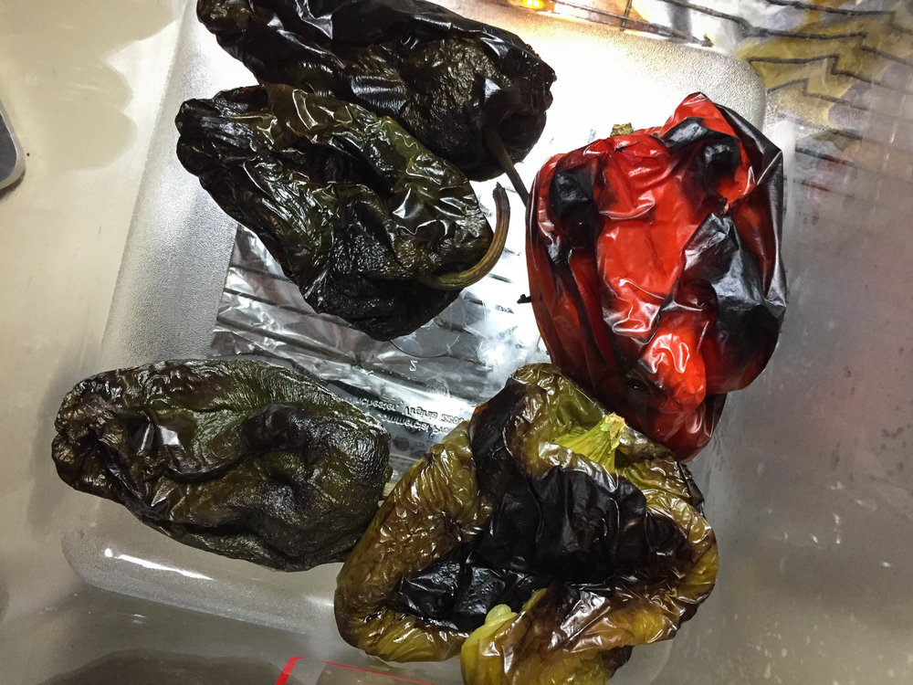 How to Roast Peppers in an Oven