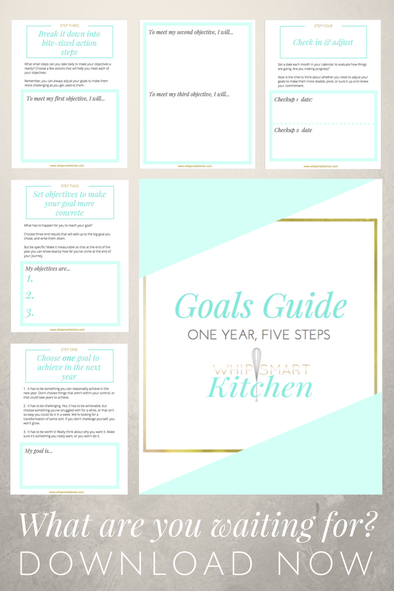 Ready to set goals you'll actually reach? Start here.   - One year, five steps.
