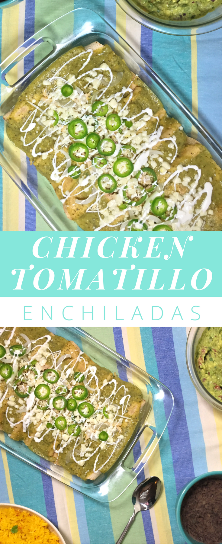 chicken-tomatillo-enchiladas