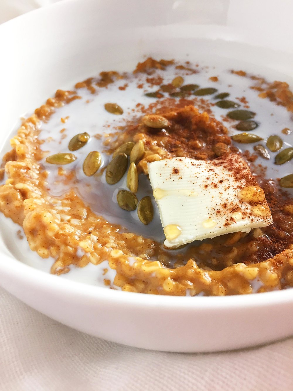 Pumpkin Spice Steel-Cut Oatmeal