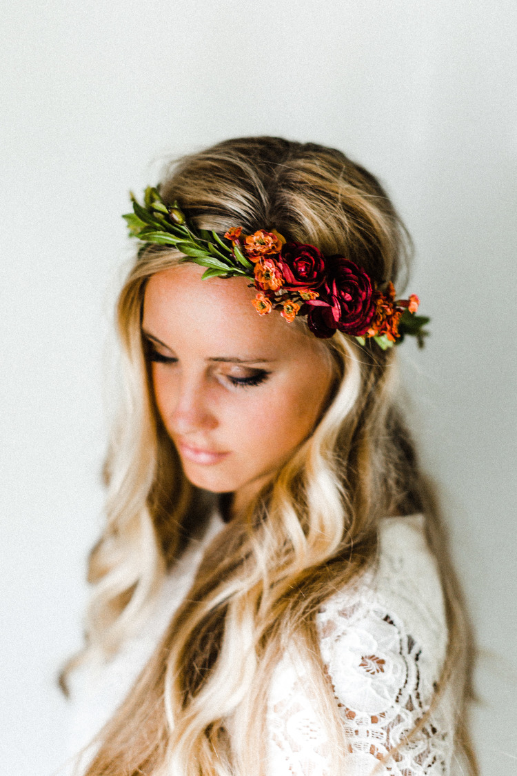 Rustic fall flower crown emily rose flower crowns rustic fall flower crown izmirmasajfo