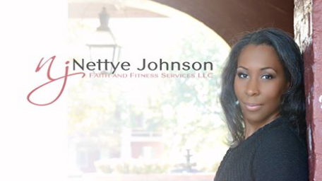 Nettye Johnson, Author of  Put Your Faith Where Your Fork Is