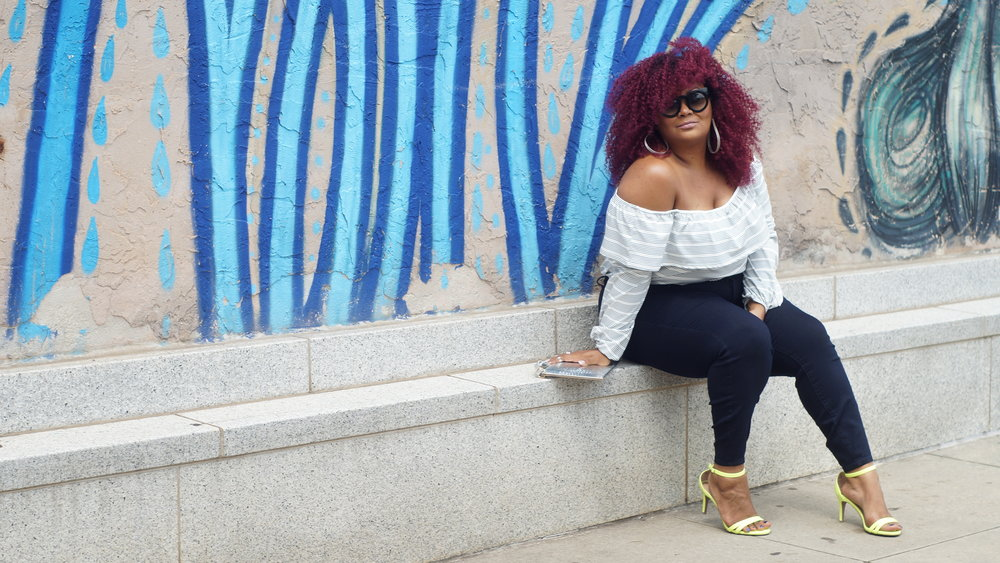 Marie Denee, CEO of The Curvy Fashionista, Photo: Chase Reign