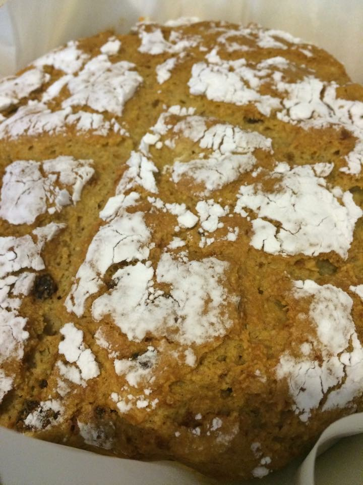 Gluten and Grain Free Irish Soda Bread