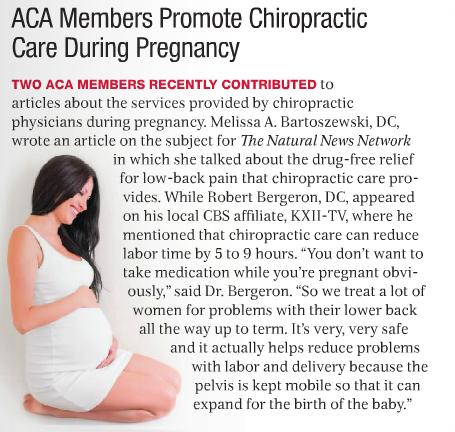 ACA: Pregnancy & Chiropractic