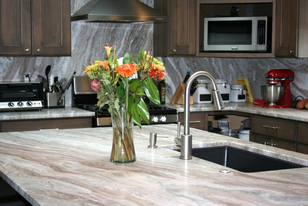 Fantasy Brown Leathered Counter Top In Denver, CO