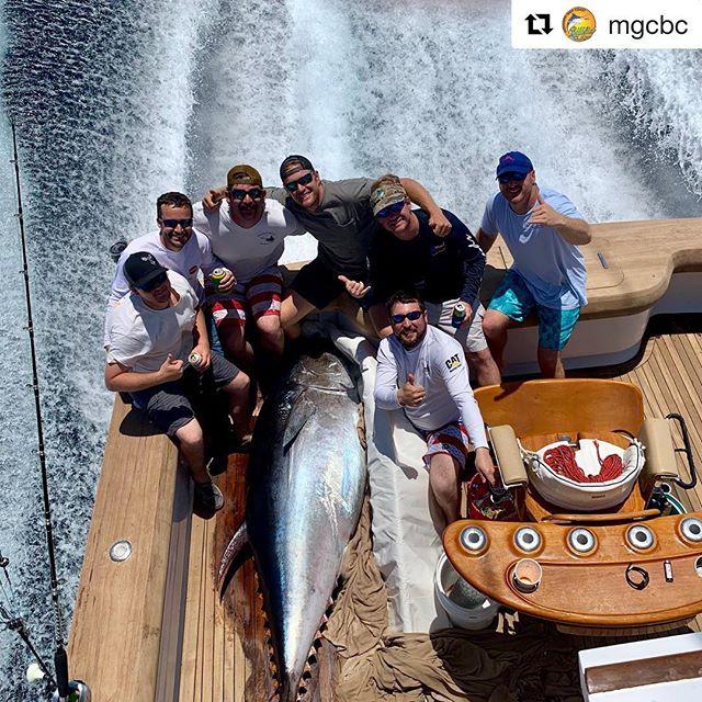 #Repost @mgcbc with @get_repost ・・・ Team Sigsbee Deep with a 605# bluefin 🐟👀💪🏽 . . . #bluefintuna #tunafishing #tunafish #gulfofmexicofishing #gulfofmexico🌊 #sigsbeedeep #mgcbc