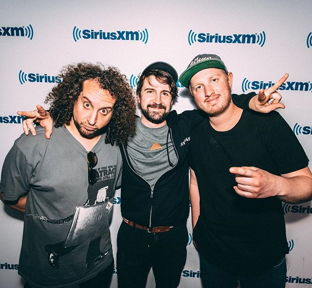 Super grateful for these guys. They believe in me and support me, and I'm lucky to have known them these past few years. They continue to grow, and it's a joy to watch. Crushed a set on @siriusxm @sxmjamon today...EPIC!