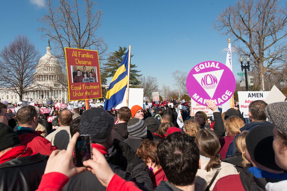 Marriage Equality Rally - U.S. Supreme Court