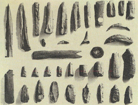 Early Stone Age tools