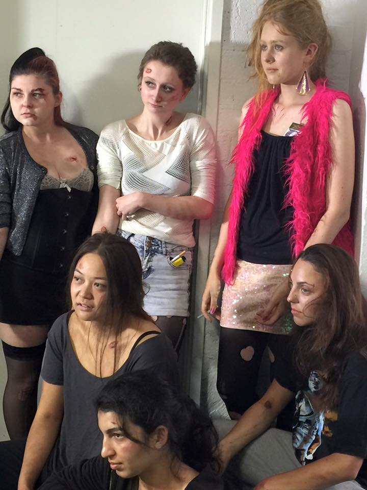 Character Makeup - Hookers and Homeless addicted to substances.