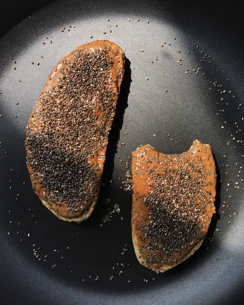 VEGAN TOASTED ALMOND BUTTER WITH CHIA -