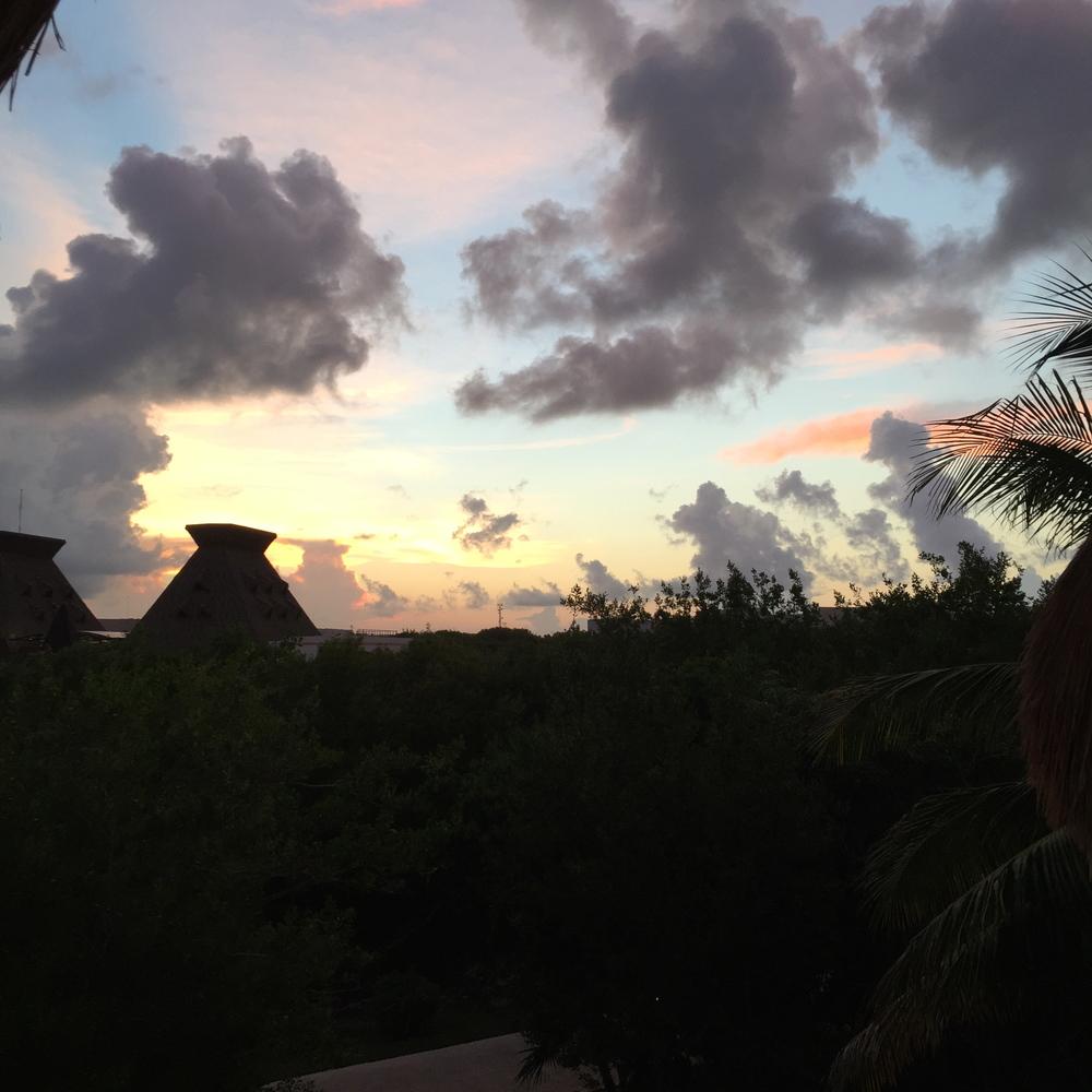 Gorgeous ocean sky.
