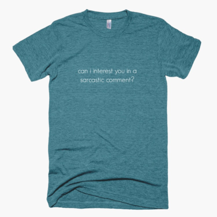 did you know I own a little shop online that sells tees with your favorite quotes from the show, Friends? check it out! www.theonewiththeshirts.com