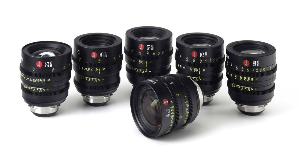 Set of 6 Leica Summicrons