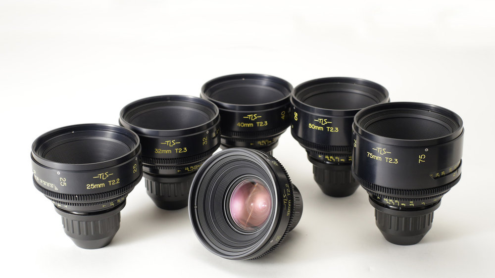 Set of 7 Cooke Speed Pancro's with TLS Rehousing