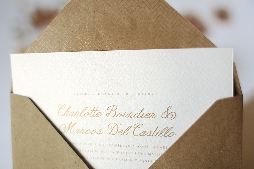 Charlotte & Marcos ♥ Membrete | Invitaciones en papel | www.membrete.com.uy