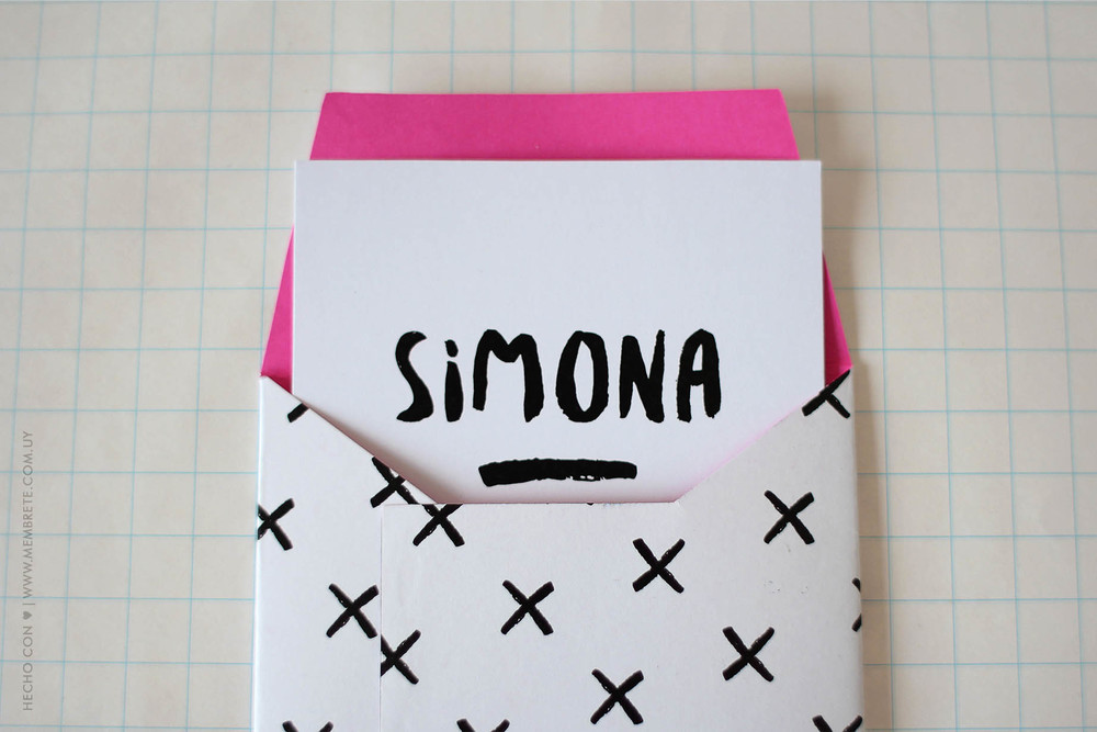 Simona ♪ Fiesta 15 | Membrete | Invitaciones en papel | www.membrete.com.uy