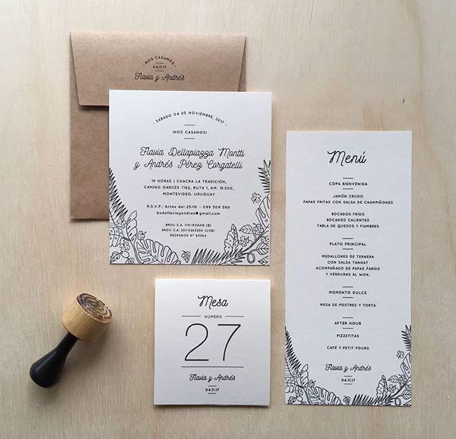 #tbt papelería completa para la boda de Flavia y Andrés 🌿🌱 #boda #celebracion #papeleria #invitaciones  #hechasparacompartir