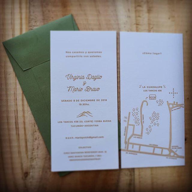 Este finde fue la boda de Virginia y Mario, cruzando el charco... 💌 #boda #celebracion #papel #invitaciones #hechasparacompartir