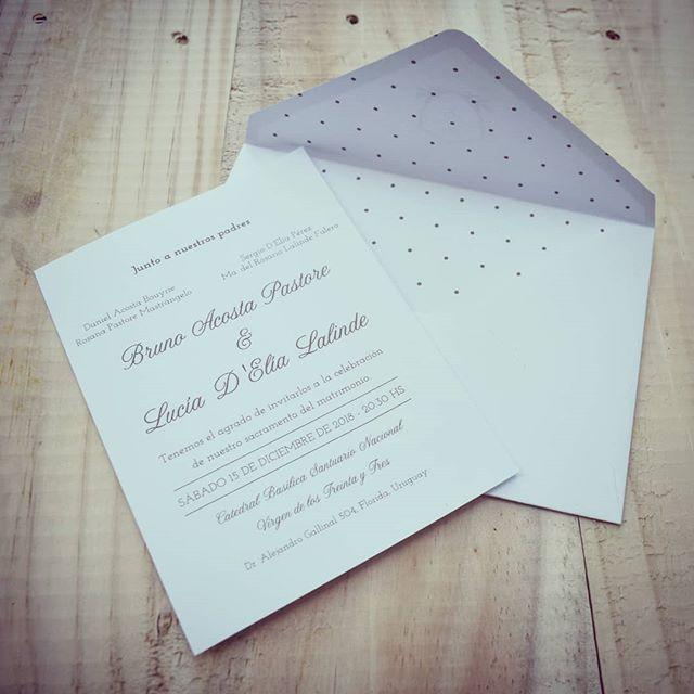 Este finde celebraron Bruno y Lucía, felicidades!!! ✉️💕 #boda #celebracion #papel #hechasparacompartir