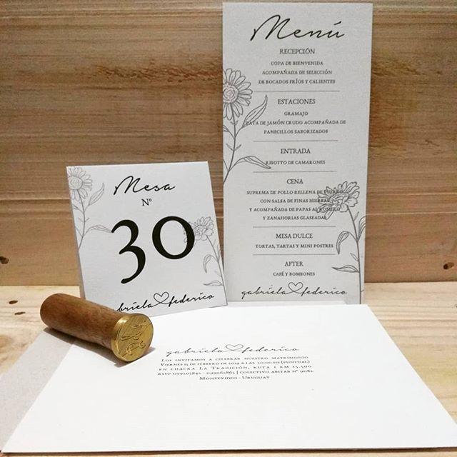Kit completo para Gabriela y Federico 💕 #boda #celebracion #hechasconamor #hechasparacompartir