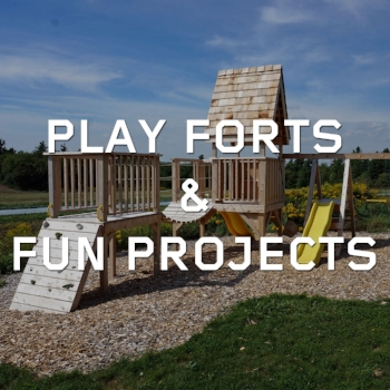 Play forts and small structures