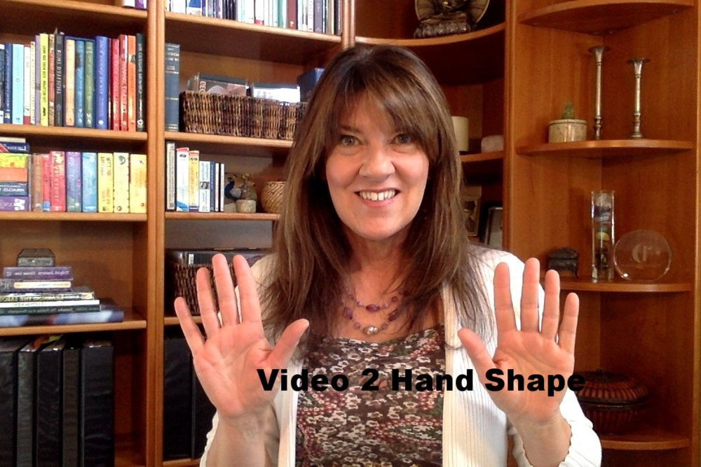 Video 2 Hand Shape  Your Natural Element