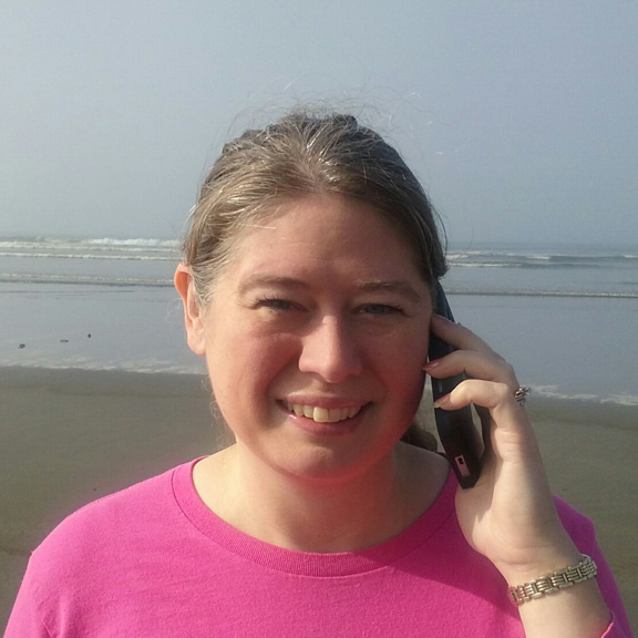Katrina Costales, sharing her Ocean Shores weekend get away time.