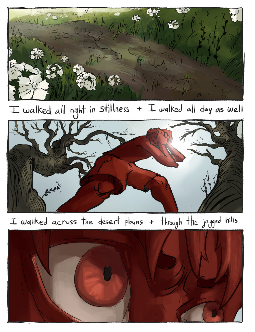 "Comic based on the lyrics to the song ""Sweet William"" by Tuung. 2/?"