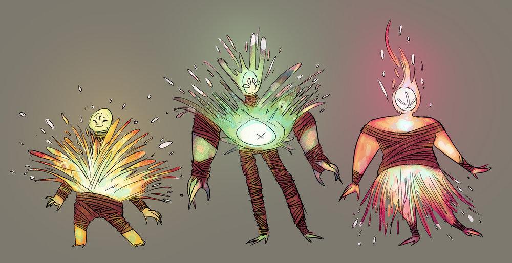 Spark-lings