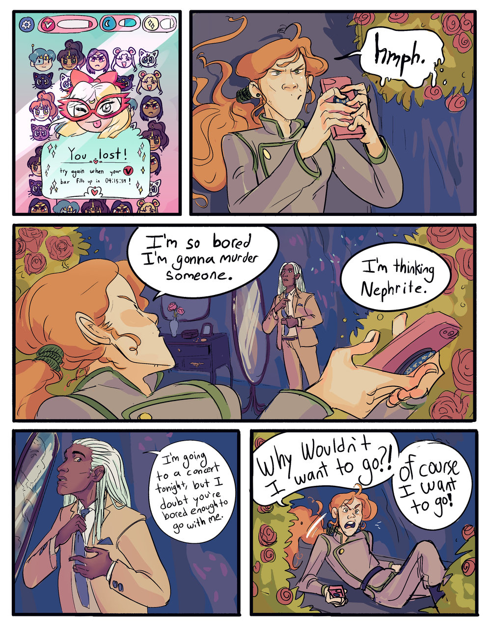 sailor moon tribute comic, 2018