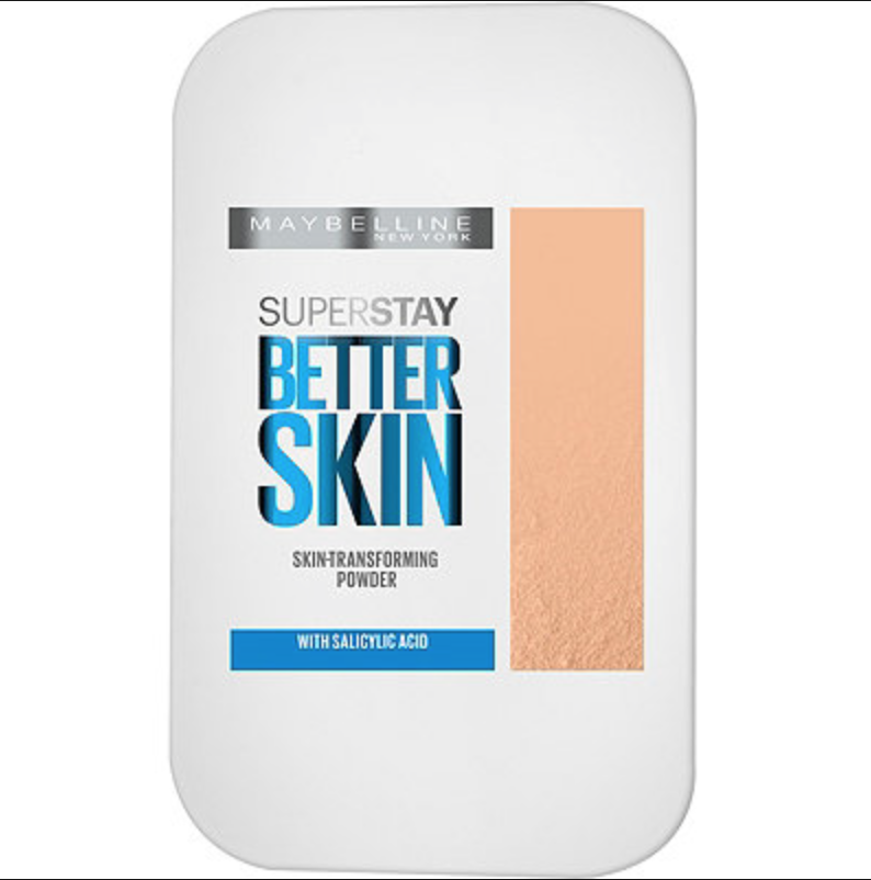 This is definitely my favorite powder at the moment. The Maybelline Better Skin Foundation does just that, gives the appearance of better skin. When it comes to drugstore foundation you cannot find anything better. Trust me!