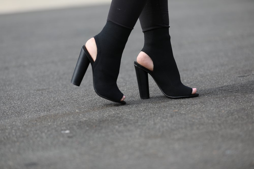 Open-Toe Booties | Steve Madden | $130