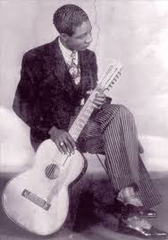 New Orleans blues guitarist Lonnie Johnson