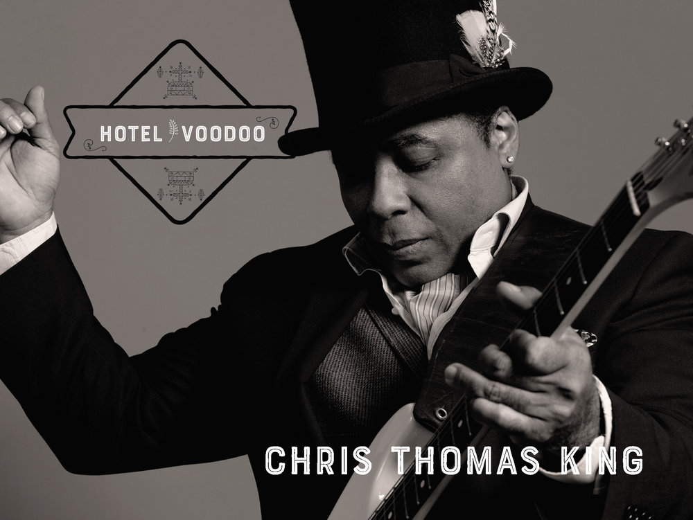 Hotel Voodoo - Is the latest album by blues artist Chris Thomas King.