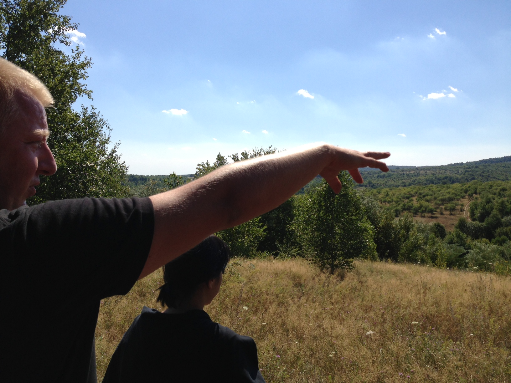 Vasya hiking