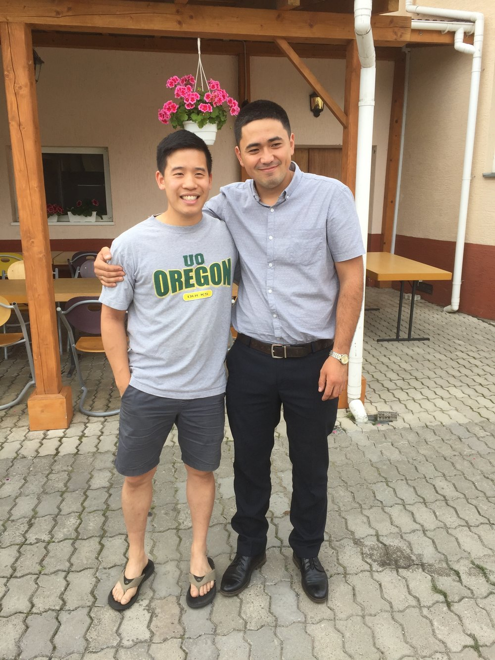 Pastor Adriel found his other brother who is also a pastor (with a Korean root) from Eastern Ukraine!