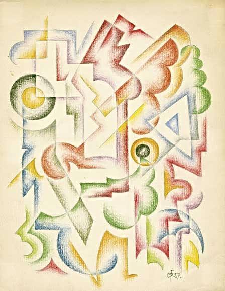 Komposition, 1927