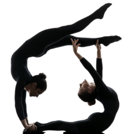Contortion duo