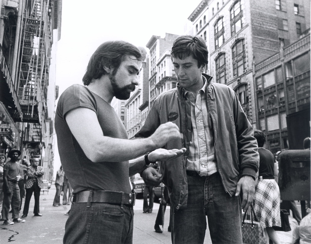 06 Martin Scorsese and Robert De Niro TAXI DRIVER, USA 1976 Source - Sikelia Productions, New York.jpg