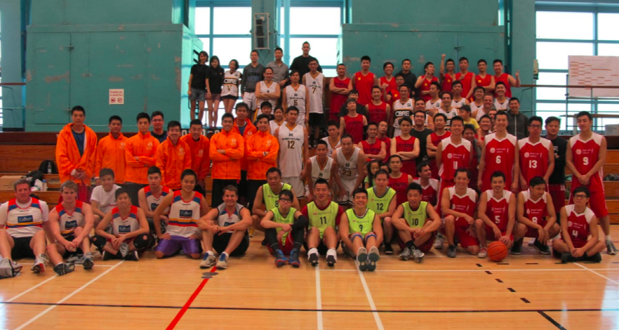 Over 100 volunteers participated in the charity basketball showdown in support of Sunbeam