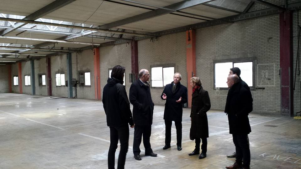 PREVIEW met o.a.Tim Prins (Studio Stad), Gedeputeerde Twan Beurskens (Provincie Limburg)en wethouder Gerdo van Grootheest (Gemeente Maastricht).